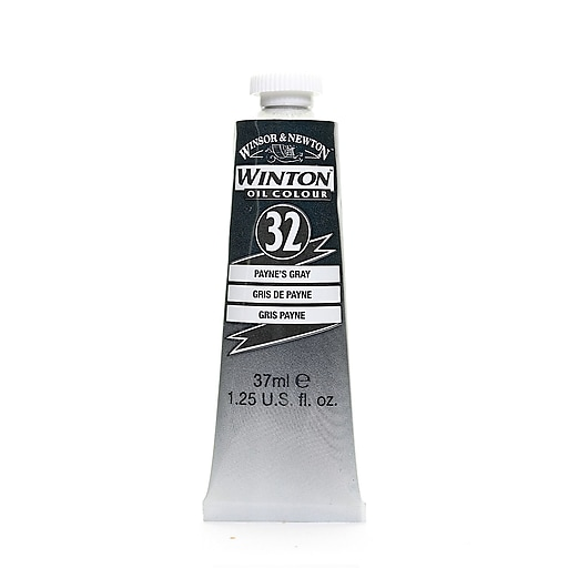 Winsor  and  Newton Winton Oil Colours 37 ml payne's gray 32 [Pack of 3]