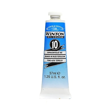 Winsor and Newton Winton Oil Colours 37 ml cerulean blue hue 10 [Pack of 3]