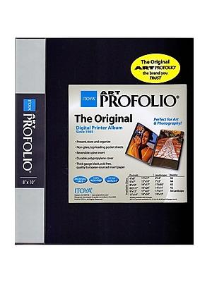 Itoya Art Profolio Storage/Display Book 8 in. x 10 in. 24 [Pack of 2]