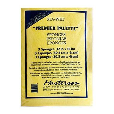 Masterson Premier Acrylic Paper and Sponge Refills pack of 3 Sponge Refill