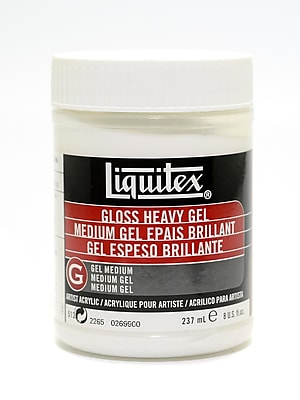 Liquitex Acrylic Gloss Heavy Gel Medium 8 oz.
