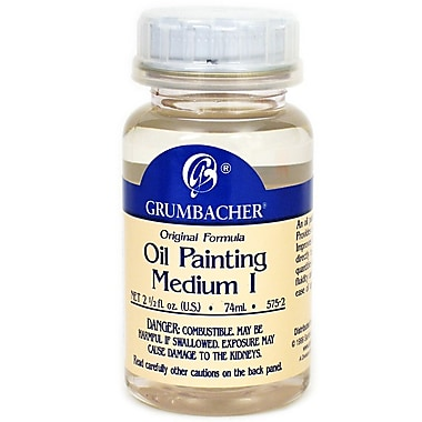 Grumbacher Oil Painting Medium I, 2.5 oz. jar (78121)