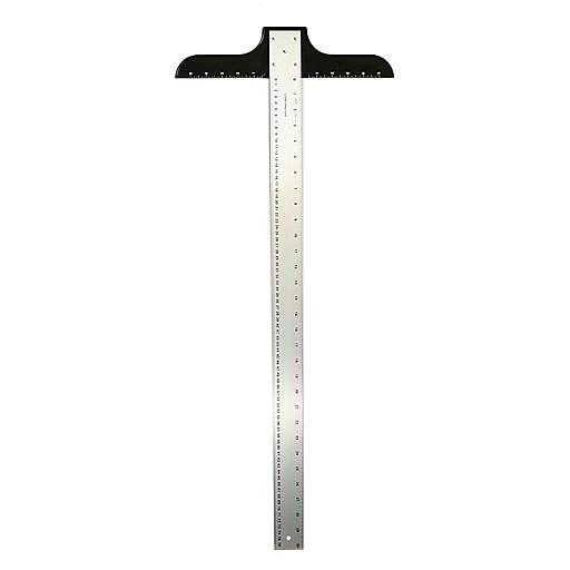 """Ludwig Precision Aluminum T-Square, 2"""" x 36"""", Heavy Duty (12142)"""