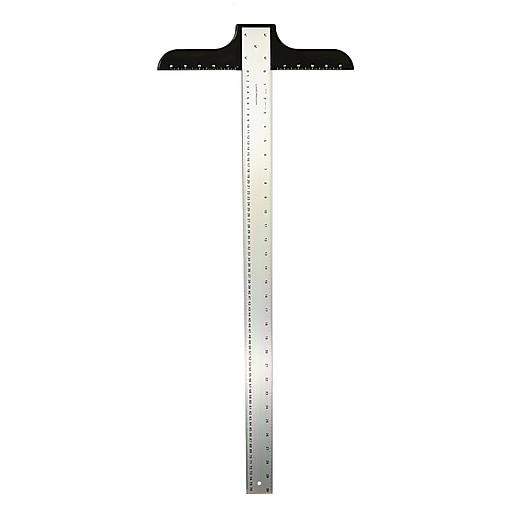 """Ludwig Precision Aluminum T-Square, 2"""" x 30"""", Heavy Duty (39340)"""