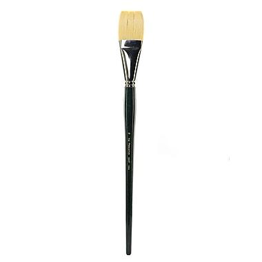 Princeton Series 5200 Chinese Bristle Oil Brushes, 16-Flat (18907)
