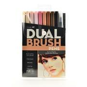 Tombow Dual End Brush Pen Sets, Portrait (64469)