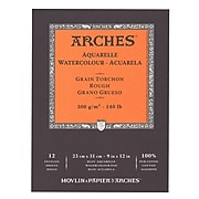 Arches Watercolor Pad 9 In. X 12 In. Rough 140 Lb. [Pack Of 2]