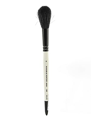 Winsor and Newton Series 340 Pony and Goat Hair Mop Brushes 6