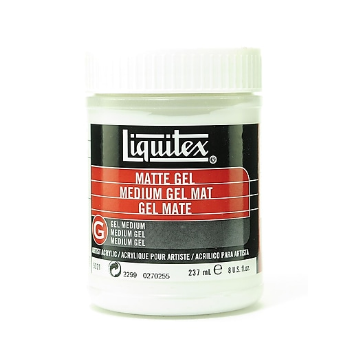Liquitex Acrylic Matte Gel Medium 8 oz.
