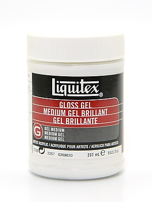 Liquitex Acrylic Gloss Gel Medium 8 oz.