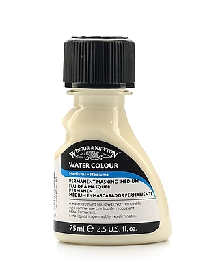 Winsor And Newton Water Colour Permanent Masking Medium 2.5 Oz. [Pack Of 3]