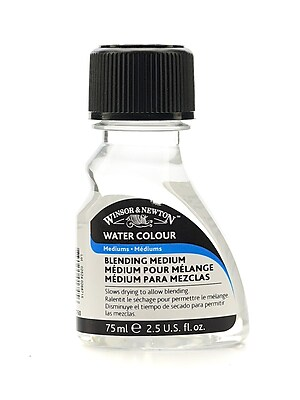 Winsor and Newton Water Colour Blending Medium 75 ml [Pack of 3]