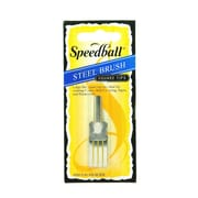 Speedball Steel Brushes 1/2 in. [Pack of 2]