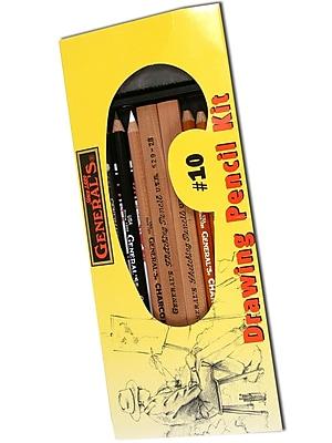 General's Drawing Pencil Kit, #10, 2/Pack (81043-PK2)