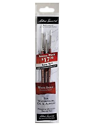 Robert Simmons WSS-3 Brush Set set of 3