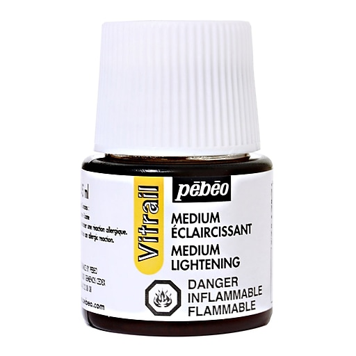 Pebeo Vitrail Mediums lightening medium 45 ml [Pack of 3]