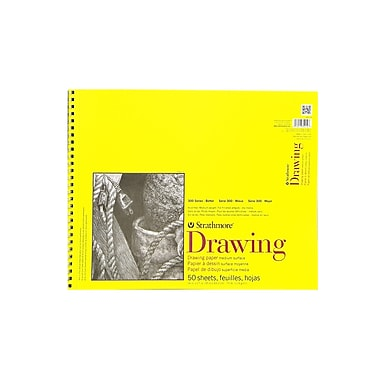 Strathmore 300 Series Drawing Paper Pads 14 in. x 17 in. [Pack of 2]