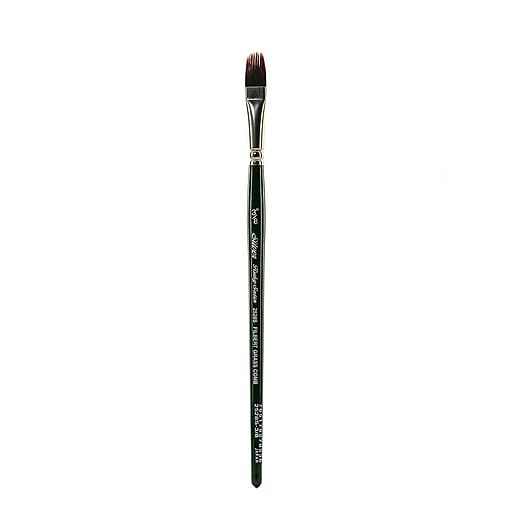 Silver Brush Ruby Satin Series Synthetic Brushes Short Handle 3/8 in. grass comb 2528S