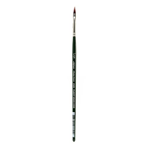 Silver Brush Ruby Satin Series Synthetic Brushes Short Handle 1/8 in. grass comb 2528S