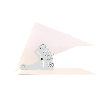 Pacific Arc Adjustable Acrylic Triangle 12 in.