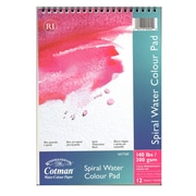 Winsor and Newton Cotman Spiral Water Colour Pad 7 in. x 10 in. [Pack of 2]
