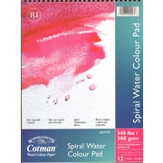 Winsor and Newton Cotman Spiral Water Colour Pad 9 in. x 12 in. [Pack of 2]