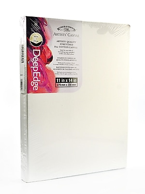 Winsor and Newton Artists' Deep Edge Canvas 11 in. x 14 in. each