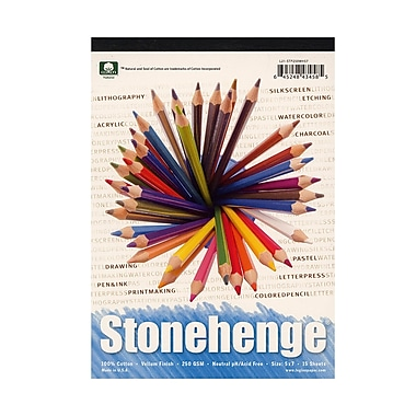 Rising Stonehenge Drawing Pads 5 in. x 7 in. 15 sheets
