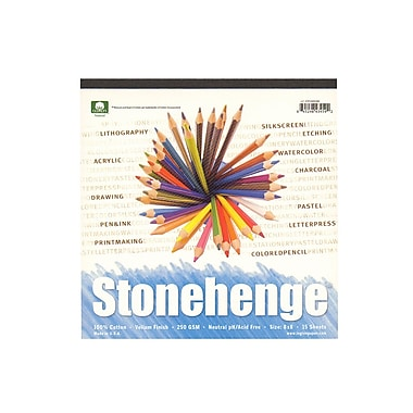 Rising Stonehenge Drawing Pads 8 in. x 8 in. 15 sheets