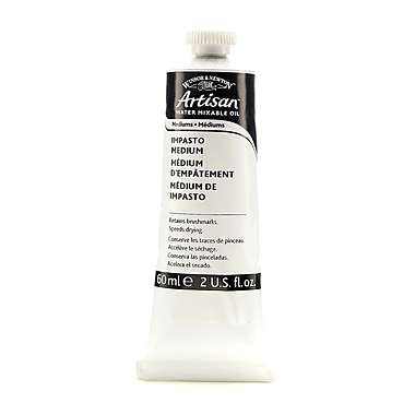 Winsor and Newton Artisan Water Mixable Mediums, Impasto, 60ml