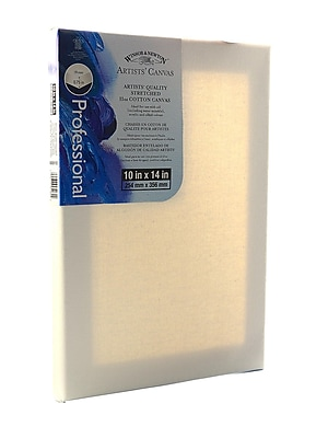 Winsor and Newton Artists' Canvas 10 in. x 14 in. each [Pack of 3]