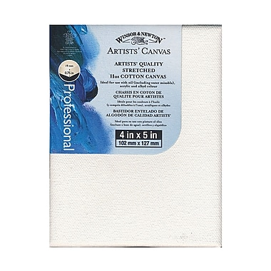 Winsor and Newton 4in x 5in Artists' Canvas, 6/Pack (39722-PK6)