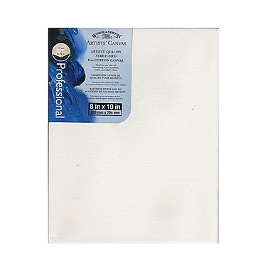 Winsor and Newton Artists' Canvas 8 in. x 10 in. each [Pack of 3]