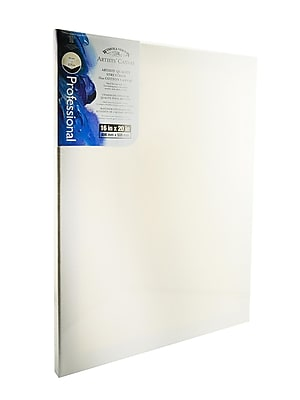 Winsor and Newton Artists' Canvas 16 in. x 20 in. each [Pack of 2]