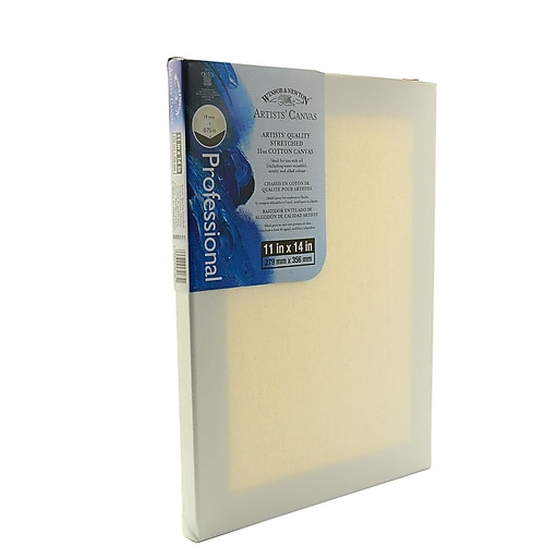 Winsor and Newton Artists' Canvas 11 in. x 14 in. each [Pack of 2]