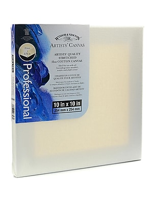 Winsor and Newton Artists' Canvas 10 in. x 10 in. each [Pack of 3]
