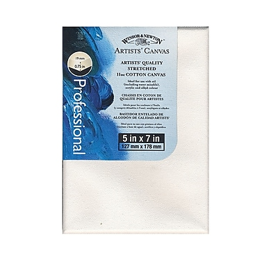 Winsor and Newton Artists' Canvas 5 in. x 7 in. each [Pack of 4]