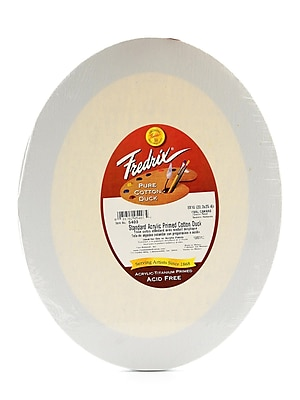 Fredrix Oval Stretched Canvas, 8