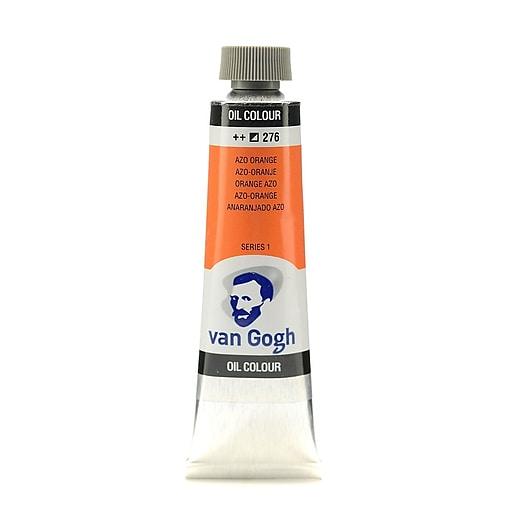 Van Gogh Oil Color azo orange 40 ml (1.35 oz) [Pack of 3]