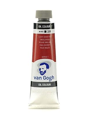 Van Gogh Oil Color light oxide red 40 ml (1.35 oz) [Pack of 3]