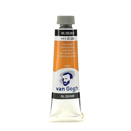Van Gogh Oil Color raw sienna 40 ml (1.35 oz) [Pack of 3]