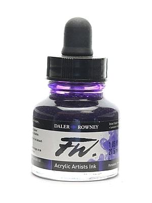 Daler-Rowney Fw Artists' Ink, Velvet Violet, 1Oz, 2/Pack (65214-Pk2)