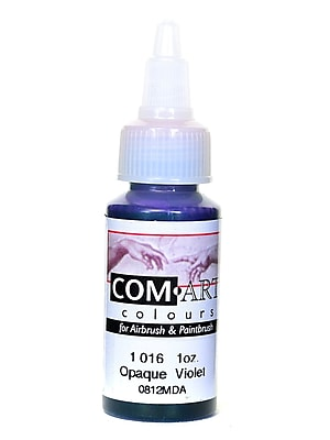 Com-Art Opaque Airbrush Color violet [Pack of 4]