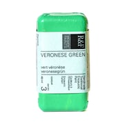 R  and  F Handmade Paints Encaustic Paint Veronese green 40 ml
