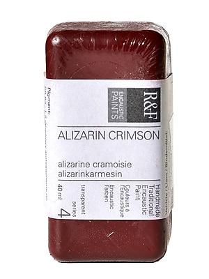 R and F Handmade Paints Encaustic Paint alizarin crimson 40 ml