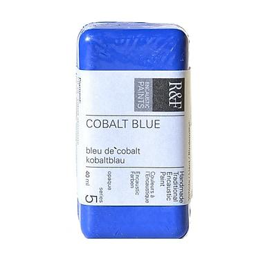 R and F Handmade Paints Encaustic Paint cobalt blue 40 ml