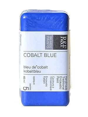 R and F Handmade Paints Encaustic Paint cobalt blue 40 ml