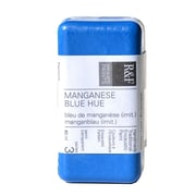 R  and  F Handmade Paints Encaustic Paint manganese blue hue 40 ml