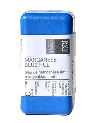 R and F Handmade Paints Encaustic Paint manganese blue hue 40 ml