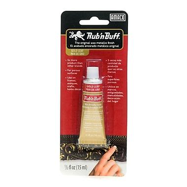 Rub 'n Buff The Original Wax Metallic Finish gold leaf [Pack of 3]
